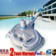 Swimming Pool For Spa Pond Suction Vacuum Brush Head Cleaning Accessories Kit