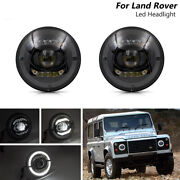 [e-mark] Ece Rhd 7and039and039inch Led Headlight Halo Ring For Land Rover Defender 90/110