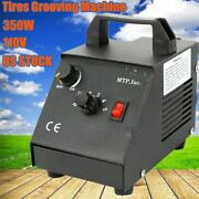 Manual Tire Regroover Truck Car Tires Rubber Regroover Blade Iron Grooving 350w