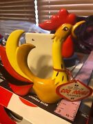 Awesome Htf Rare Holt Howard Rooster Napkin Holder With Sticker And Tag