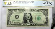 12 - 1.1963 Fed.res.star Notes, A - L Pcgs 67 Ppq - 62, Gold Seal Encrypted