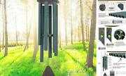 Wind Chimes Outdoor Large Deep Tone,sympathy Wind Chime Outdoor, 44green