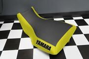 Yamaha Grizzly 660 Yellow Sides Logo Seat Cover Yz66kya66
