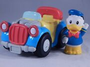 Disney Toy Little People Donald Duck Car Mattel Fisher Price