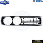 For 72 1972 Charger Front Grill Grille Rh Black Oer Without Concealed Headlamp