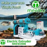 Electric Extruder To Make Your Own Tilapia Fish Food - Mkew200b Free Shipping
