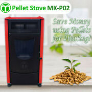 Pellet Stove - Mk-p02 - Save Money Using Pellets For Heating - Usa Stock