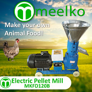 Electric Pellet Mill For Chicken Food - Mkfd120b Free Shipping