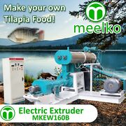 Electric Extruder To Make Your Own Tilapia Fish Food - Mkew160b Free Shipping