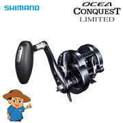 Shimano Ocea Conquest Limited 300hg Right Jigging Fishing Baitcasting Reel