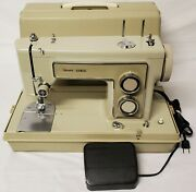 Vintage Sears Kenmore 158.13180 Home Electric Heavy Duty Sewing Machine Clean