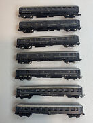 N Scale Model Power Lima Lot Of 7 Passenger Cars Coach