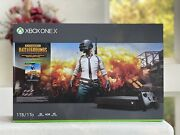 Microsoft Xbox One X 1tb Console Black Barely Used Open Box Free Shipping