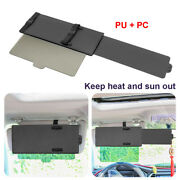 Portable Automobile Sunshade Scalable Front Side Reflective Visor Cover Shield