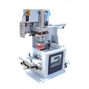 Electric And Pneumatic Pad Printing Machine For Clothes Plastic W/ Sealed Ink Cups