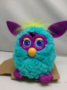 2012 Hasbro Furby Boom Pink Teal Yellow And Purple New Open Box