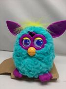2012 Hasbro Furby Boom Pink, Teal, Yellow And Purple New Open Box