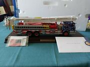 Franklin Mint Pierce Fire Snorkel Le Stars And Stripes 132 Scale Hard To Find