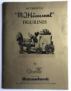Authentic M.j. Hummel Figurines By Goebel Collector Book/reference Guide 7/1977