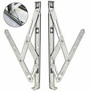 304 Stainless Steel Window Sliding Brace,4-bar Hinges For Hanging Windows An...