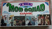 Mod Squad Board Game By Remco-1968-complete In Great Condition