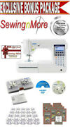 Juki Hzl-f300 Exceed Home Deco Sewing And Quilting Machine W/ Platinum Package