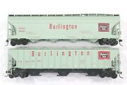 Ho Athearn Burlington Route Acf And Ps-2 Covered Hoppers