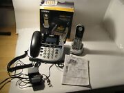 Uniden Loud And Clear 6.0 Telephone With Handset And Instructions Land Line Phone