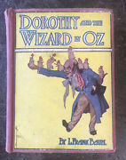 Old Dorothy And The Wizard Of Oz Book L. Frank Baum Fairy Tale Story Magic Girl