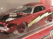 1969 Camaro Jl Limited Edition And039lightning Rodsand039 Red W Clear Tires 164 Scale