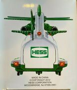 2012 Hess Helicopter And Rescue Truck New Mint-in-box