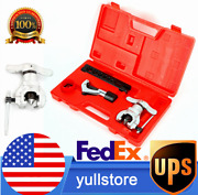 Line Application Eccentric Cone Type Flaring Tool Set Kit 45anddeg Angle 7 Dies Sizes