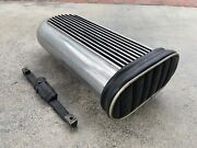 Blower Supercharger Tunnel Ram Finned Dual Quad Hilborn Style Scoop Bds 671 6-71