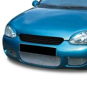 Badgeless Slatted Car Grill Compatible With Vauxhall Opel Corsa B 1997-2000 Euro