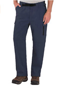 Bc Clothing Menand039s Convertible Stretch Cargo Pants And Shorts W/ Zippered Pockets