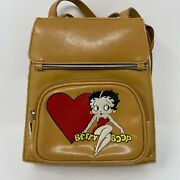 Betty Boop Hand Bag Purse Backpack By King Features Syndicate Embroidered