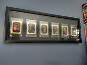 1996 Marvel Master Pieces 1-6 Complete Gold Cards By Boris Vallejo