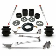 1955-59 Chevy Truck Rear Triangulated 2600lbs 4-link Air Ride Bag Suspension Kit