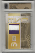 Famous Fabrics 2nd Edition Kobe Bryant Game-used Jersey Patch Gold 1/1