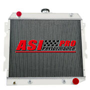 4 Row Aluminum Radiator For 1970-1973 Dodge Plymouth Small Block 22wide Pro