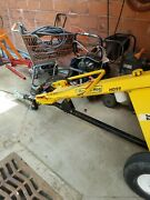 Ground Hog Hd99 Hydraulic Earthdrill. Towable. Post Hole Digger. Auger