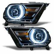 Oracle Lighting 10-14 Fits Ford Mustang Colorshift Hl Pre-assembled Headlights