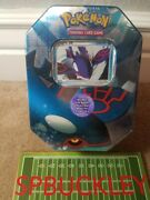 2006 Pokemon Kyogre Ex Collectors Tin, Ex Emerald Boosters, Ex Crystal Guardians