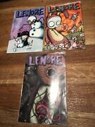 Roman Dirges - 3 X Lenore Comic Issues 2 5 7 From 1998 1999 2003