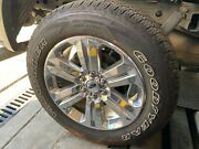 Oem Ford F-150 Lariat Chrome 20and039and039 Wheels And 275/55/20 Goodyear Tires Set Of 3