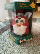 Vintage 1999 Christmas Edition Furby Baby New