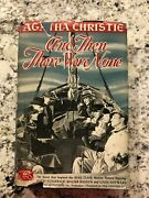 Agatha Christie And Then There Were None Book 1945 Novel Grosset And Dunlap Movie