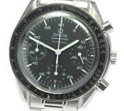 Omega Speedmaster 3510.50 Chronograph Black Dial Automatic Menand039s Watch_612501
