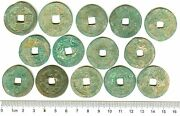 K2876 China Northern Sung Dynasty 2-cash Coins 50 Pcs Wholesale Ad 1000and039s