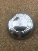 Single 1939 Ford Deluxe V8 12.5 Dog Dish One-piece Hubcaps Poverty V8 Logo 39